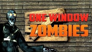 ONE WINDOW ZOMBIES ★ Call of Duty Zombies (Zombie Games)