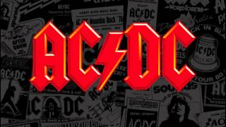 AC DC Fire Your Guns backing track