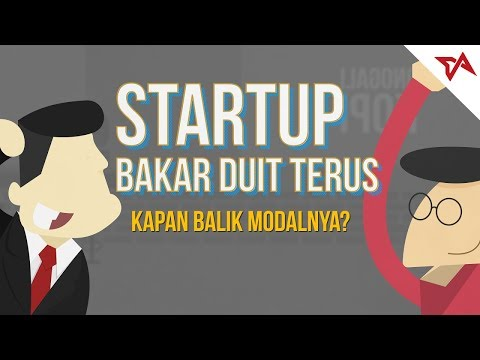 [#01] Startup Bakar Duit Terus  - Kapan Balik Modal?   TIAnimate