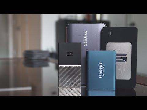 Best External SSDs for 4K Video Editing
