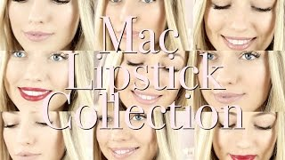 My Mac Lipstick Collection (WITH LIP SWATCHES) | Freddy My Love