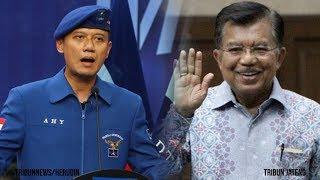 Jusuf Kala Mengaku Siap Maju Wapres Ketiga Kalinya, AHY Lontarkan Kritikan