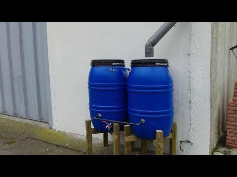 Instalación de depósitos para recoger agua de lluvia - Programa completo - Bricomanía