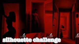 silhouette challenge~tik tok (put your head on my shoulder)