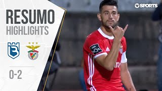Belenenses 0-2 Benfica Highlights (Portuguese League 19/20 #2)