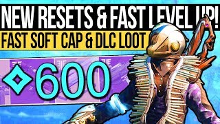 Destiny 2 | How to Reach 600 POWER FAST & New DOUBLE Resets in Forsaken!