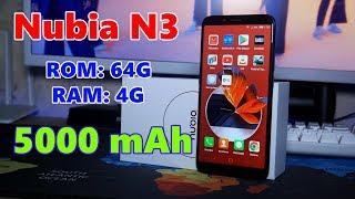 Nubia N3 - ЯДЕРНАЯ альтернатива Xiaomi Redmi Note 5, НО...