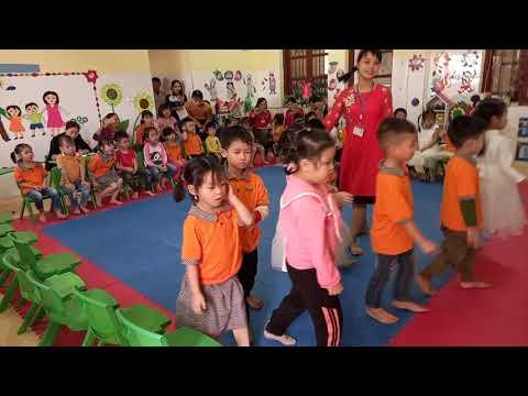 Sinh hoạt chuyên môn Khối 5 tuổi trường MN Vân Trung năm học 2020-2021
