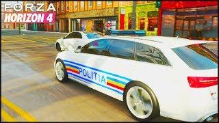Poliția Romana vine dupa noi! | Forza Horizon 4