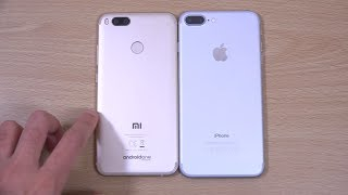 Xiaomi Mi A1 vs iPhone 7 Plus - Review (4K)