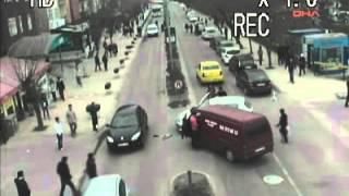 Edirne'de trafik kazaları MOBESE'de