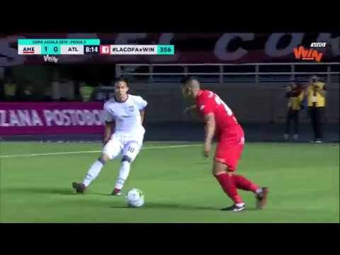 America vs Atletico (1-0) | Copa Aguila 2019 | Fecha 3
