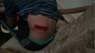 preview picture of video 'سترة : اصابات بعد قمع مسيرة ماضون في اسقاط النظام'