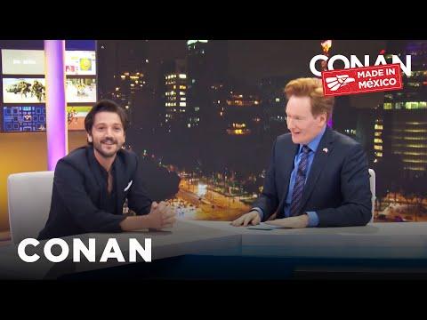 Conan v Mexiku #3: Diego Luna a lucha libre