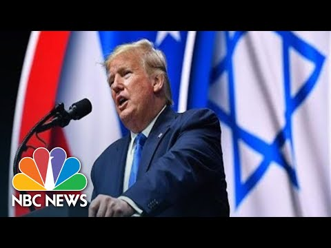 Watch live: Trump speaks at the Israeli American Council National Summit