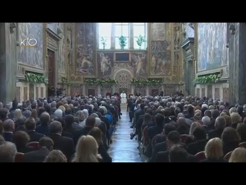 Remise du Prix Charlemagne au Pape François