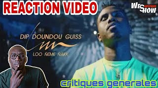 Dip Doundou Guiss - LNN Feat. Bass Thioung / reaction video by WES SHOW