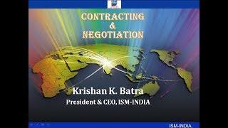 Contracting & Negotiation