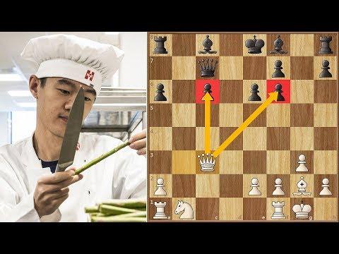 A Very Sharp Line | Ding vs Caruana || Altibox Norway (2019)