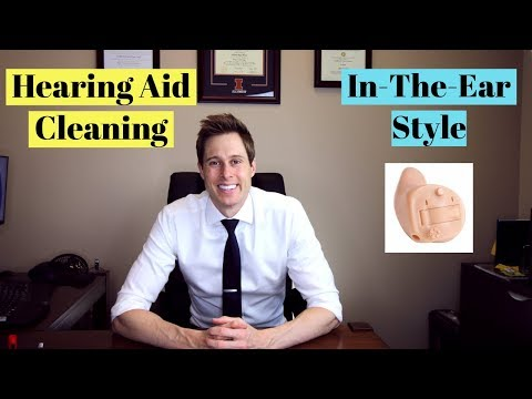 How to Clean an In-the-Ear (ITE) Hearing Aid – Applied Hearing Solutions