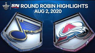 NHL Highlights | Blues Vs. Avalanche – Aug. 02, 2020