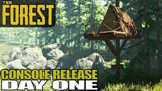 NEW WORLD DAY 1, CONSOLE RELEASE | The Forest | Let