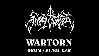 Angelcorpse Drum/Stage cam , Wartorn live
