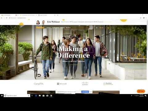 TestOut Demonstration of Network Pro Courseware - YouTube