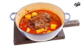Боличе. Рецепт фаршированного томленного мяса