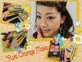 ★ピュアオレンジ メイク ★ - Pure Orange Make Up.- by さちぷうさん
