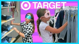 "SISTER VS SISTER BLINDFOLDED 3 OUTFITS CHALLENGE AT TARGET ""SISTER FOREVER"""