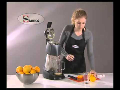 video 1, Presse agrumes à levier EVOLUTION (santos_70)