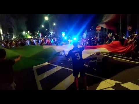 Italia sul tetto d'Europa, Legnano sventola il tricolore