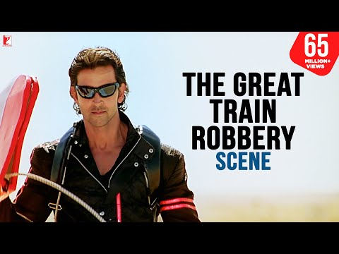 Scene: The Great Train Robbery | Dhoom:2 | Hrithik Roshan Mp3