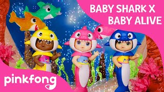 Baby Alive Presents: Pinkfong! Baby Shark Baby Alive Dance! | Baby Shark Dance