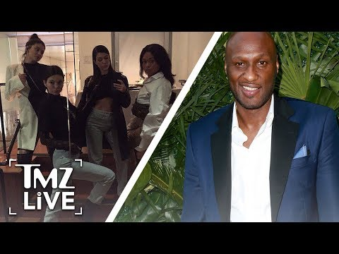 Kardashians Run Into Lamar! | TMZ Live