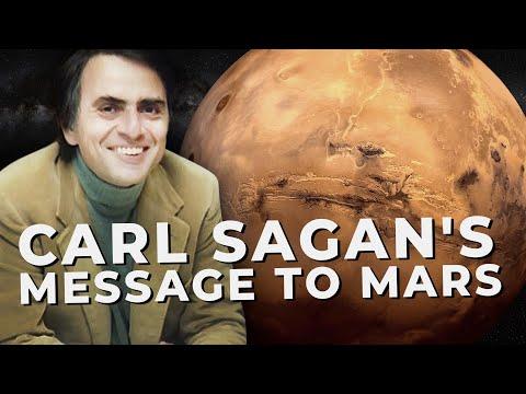 Carl Sagan's Message to Mars