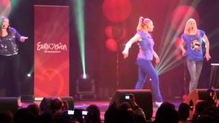 San Marino: Valentina Monetta - The social network song (oh oh-uh-oh oh) Eurovision in Concert