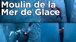 Moulin Mer de Glace Le Montenvers Chamonix Mont-Blanc escalade montagne alpinisme