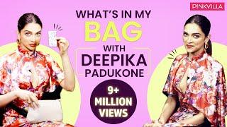 What's in my bag with Deepika Padukone| Fashion| Bollywood| Pinkvilla| Deepveer