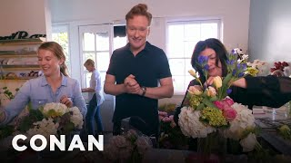 Conan Delivers Valentine's Day Bouquets - Video Youtube