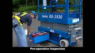 Genie Aerial Lift Operator Training Informational