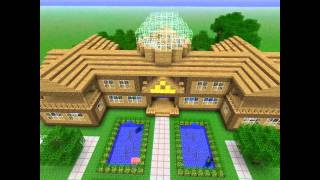 Смотреть онлайн Самые красивые большие домов в Майнкрафте