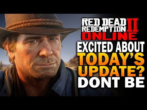 Excited About Today's New Red Dead Online Update? Don't Be - Red Dead Redemption 2 Online Update (видео)