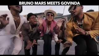 Bruno Mars meets Govinda