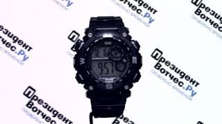Часы Q&Q M133-001 [M133 J001] - Круговой обзор от PresidentWatches.Ru
