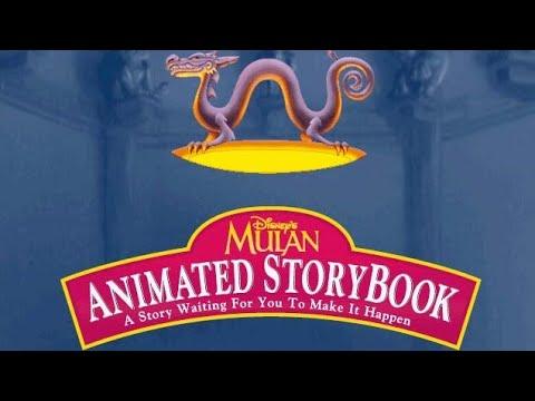 Mulan: Disney's Animated Storybook (Mulan's Story Studio) - Full Gameplay/Walkthrough (Longplay)
