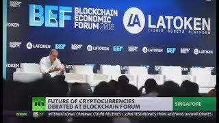 World Blockchain Economic Forum: Future of cryptocurrencies discussed in Singapore