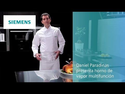 Daniel Paradinas presenta el horno de vapor multifunción de Siemens