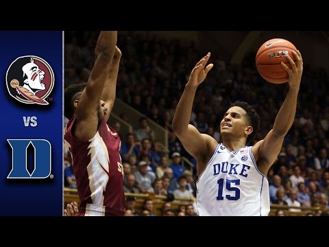 Florida State vs. Duke Men's Basketball Highlights (2016-17)